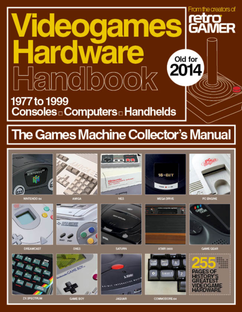 Videogames Hardware Handbook Now On Sale | Retro Gamer