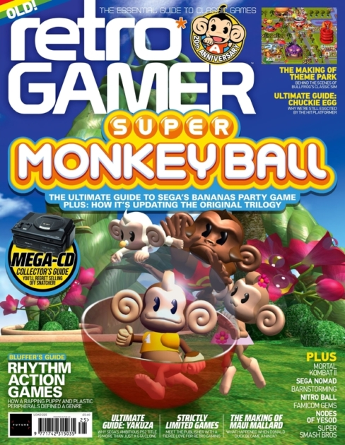 Retro Gamer 225 is on sale now!